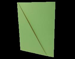 Odkládací mapa s rohem - A4, classic, karton, zelená