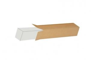 Kartonová krabice - 150x150x100 mm, třívrstvá (náhrada tubusu)