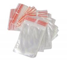 Rychlouzavírací sáčky - 10x15 cm, transparentní, 100 ks