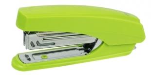 Sešívačka Deli E0238 - 15 listů, kov/plast, zelená