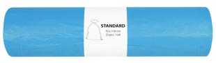 Pytel na odpad 120 l Alufix Standart - 23 my, modrý, 25 ks