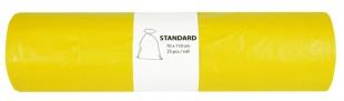 Pytel na odpad 120 l Alufix Standart - 23 my, žlutý, 25 ks