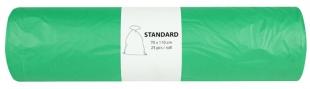 Pytel na odpad 120 l Alufix Standart - 23 my, zelený, 25 ks