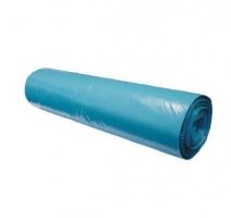 Sáček do koše 70 l - 60x85 cm, 10 my, modrý, 25 ks