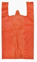Mikrotenová taška 10 kg - extra pevná, oranžová, 20 my, 200 ks