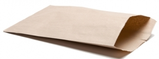 Kupecký sáček 1 kg - hnědý, 15 kg