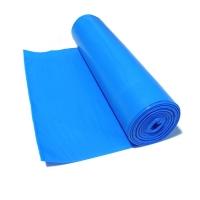 Pytel LDPE na odpad 120 l - volně ložený, 70x110 cm, 100 my, modrý, 100 ks