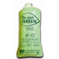 Polystyrenová výplň Flo-Pak Green - zelená tělíska, 500 l