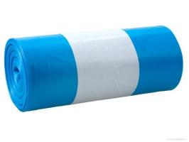 Sáček do koše 30 l - 50x60 cm, 40 my, modrý, 25 ks