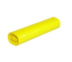 Sáček do koše 30 l - 50x60 cm, 30 my, žlutý, 25 ks