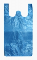 Mikrotenová taška Mini - 16+12x30 cm, modrá, 100 ks