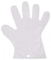 Mikrotenové rukavice HDPE - jednorázové, odtrhávací, 9 my, 100 ks