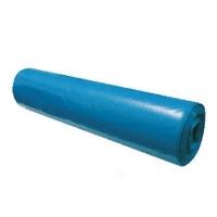 Pytel na odpad LDPE 120 l - 70x110 cm, 80 my, modrý, 15 ks