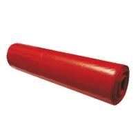 Pytel na odpad LDPE 120 l - 70x110 cm, 80 my, červený, 15 ks