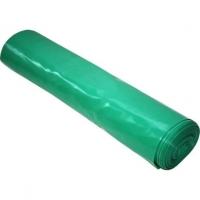 Pytel na odpad LDPE 120 l - 70x110 cm, 80 my, zelený, 15 ks