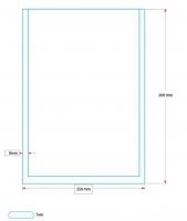 Vakuový sáček - 250x300 mm, 80 my, 1000 ks