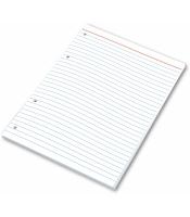 Náhradní listy do kroužkového bloku A4 Karis - linkované, 100 listů