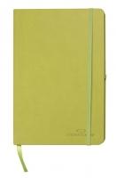 Zápisník Concorde Neapol - A6, linkovaný, s gumou, 80 listů, zelený