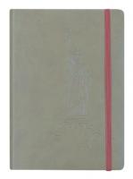 Zápisník Concorde New York - A5, s gumou, linkovaný, 80 listů