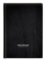 Denní záznamy A5 - lamino, černé