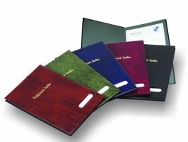Podpisová kniha - PVC, červená