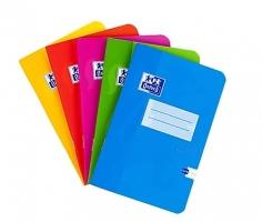 Školní sešit 644 Oxford Soft Touch - A6, linkovaný, mix barev, 40 listů