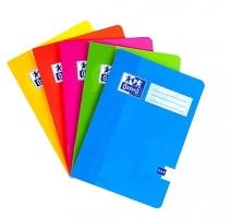 Školní sešit 544 Oxford Soft Touch - A5, linkovaný, mix barev, 40 listů