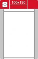 Termotransferové etikety TTR na kotouči - 100x150 mm, dutinka 40 mm, bílé, 500 ks