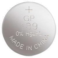 Alkalická knoflíková baterie GP 1,5 V - 11,6x3,05 mm, LR54, typ 189F, 1 ks