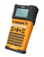 Tiskárna samolepicích štítků Brother PT-E300VP - s kufrem, černo-oranžová