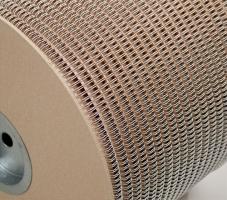 """Kovový kroužkový hřbet na cívce Renz 3/1"""" - (5/8"""")16 mm, 15000 oček, bílý"""