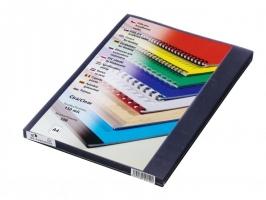 Přední strana kroužkové vazby Prestige - A4, 150 my, PVC, transparentní čiré, 100 ks