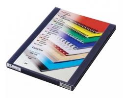 Přední strana kroužkové vazby Prestige - A4, 200 my, PVC, transparentní čiré, 100 ks