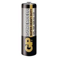 Zinkouhlíkové baterie GP Supercell 1,5 V - tužkové, R6, AA, 4 ks