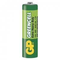 Zinkochloridové baterie GP Greencell 1,5 V - tužkové, R6, AA, 4 ks