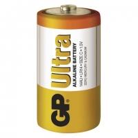 Alkalické baterie GP Ultra 1,5 V - malé mono, LR14, typ C, 2 ks