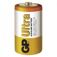 Alkalické baterie GP Ultra 1,5 V - velké mono, LR20, typ D, 2 ks