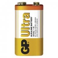 Alkalická baterie GP Ultra 9 V - 26,5x17,5x48,5 mm, typ 6LF22, 1 ks