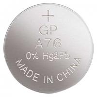 Alkalická knoflíková baterie GP 1,5 V - 11,6x5,4 mm, LR44, typ A76F, 1 ks