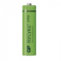 Nabíjecí baterie GP ReCyko+ 2700 1,2 V - tužka, HR6, typ AA, 2ks