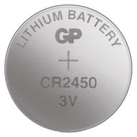 Lithiová knoflíková baterie GP 3 V - CR2450, blistr, 1 ks