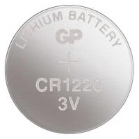 Lithiová knoflíková baterie GP 3 V - CR1220, blistr, 1 ks