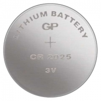 Lithiová knoflíková baterie GP 3 V - 20x2,5 mm, CR2025, 1 ks
