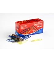 Barevné kancelářské sponky 453B - 32 mm, mix barev, 75 ks