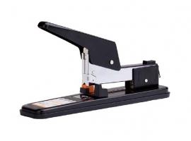 Páková sešívačka Deli E0392 - 50 listů, kovová, černá