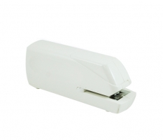 Elektrická sešívačka Deli 0489 - na baterie AA, 20 listů, plastová, bílá