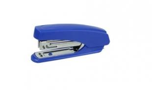 Sešívačka Deli E0238 - 15 listů, kov/plast, modrá