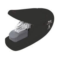 Bezsponková sešívačka Plus 106AB - 6 listů, plastová, černá