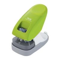 Bezsponková sešívačka Plus SL-112A-EU - 10 listů, plastová, zelená