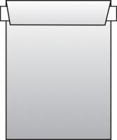 Poštovní taška C5 - bez okénka, krycí páska, 229x162 mm, bílá, 500 ks